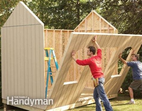 Building Shed Walls