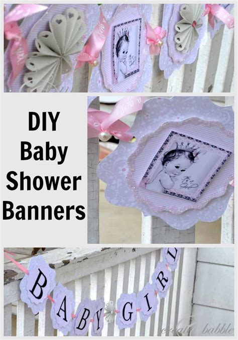 Baby Shower Diy Decorations by Baby Shower Decorations Diy Style Create And Babble