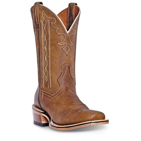 s cowboy boots dan post spritzer s leather 11 quot cowboy boots 666476
