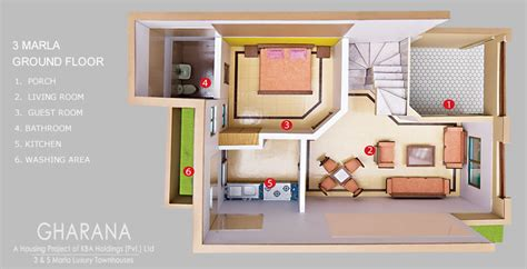 3d home map design m shahzad house 3d map