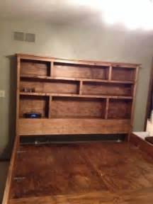 bookcase king bed bookshelf headboard king foter
