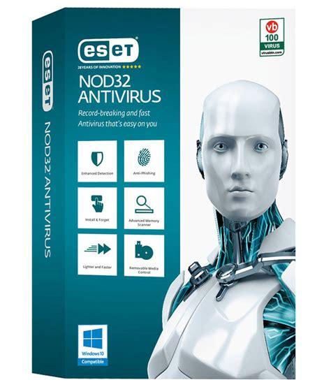 full version antivirus with one year license eset nod32 antivirus license 2018 1 pc 3 years