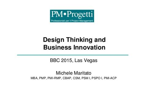 Mba Programs For Design And Innovation by Design Thinking And Business Innovation