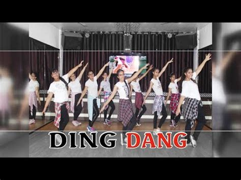 tutorial dance on ding dang ding dang dance performance munna michael choreography