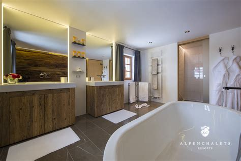 badezimmer chalet luxus chalet lech am arlberg h 252 ttenurlaub in lech z 252 rs