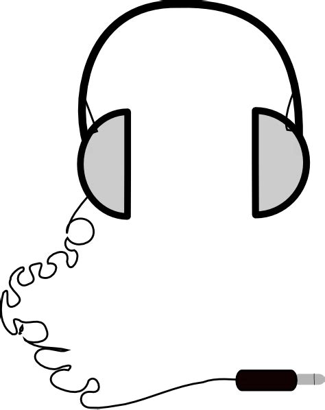easy to draw clipart cool easy drawing of headphones clipart best