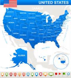 United States Map With States Map Of United States