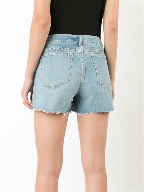 Sale Branded Hotpants Ripped Murah On The Rock shop rag bone jean ripped denim shorts at modalist m0024000231560