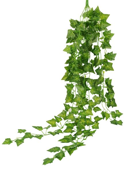 artificial garden green plant hanging vine plant leaves garland home wall decor ebay