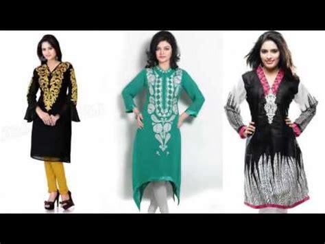 lade indiane cotton casual kurtis pics fashion 2017