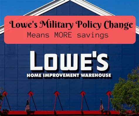 what time does home depot open up lowe s policy change means more savings the