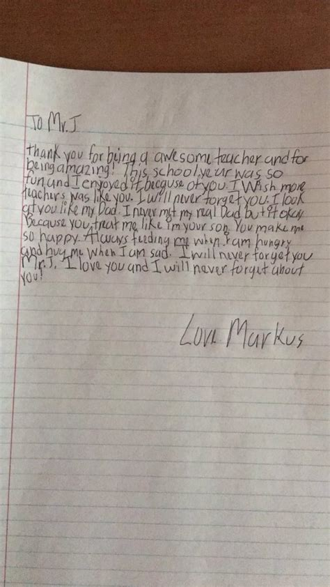 thank you letter to 5th grade 5th grade receives an end of year thank you note