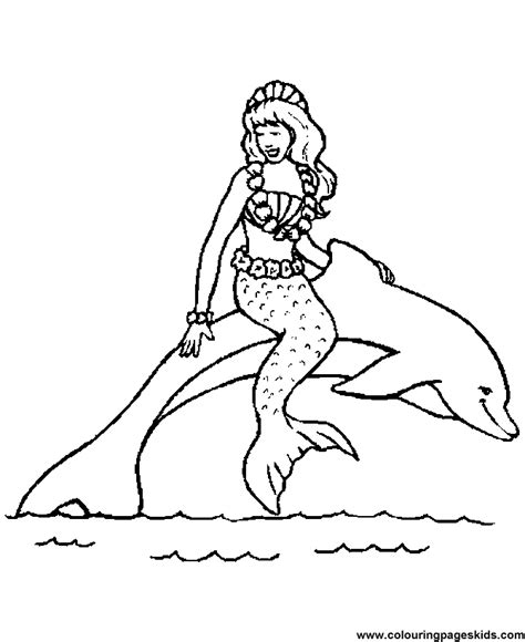 dolphin coloring page pdf free printable animal coloring pages mermaid and dolphin