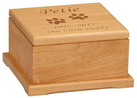 cremation for dogs pet cremation urns wood images