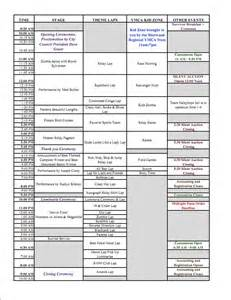 relay for of sherwood 2011 events schedule around