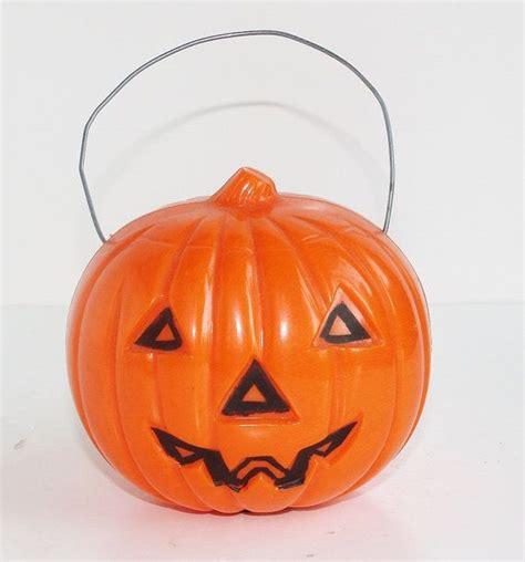 plastic light up pumpkin vintage plastic o lantern pumpkin