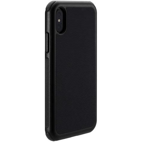 just mobile quattro air for iphone x xs black pc 388bk b h