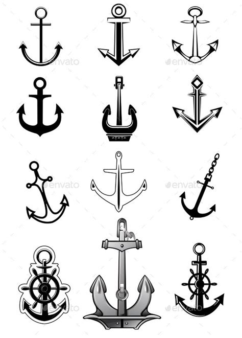 boat anchor tattoos best 25 ankle ideas on