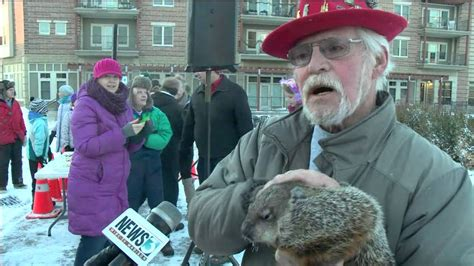 groundhog day jimmy jimmy the groundhog s forecast debated mayor bitten