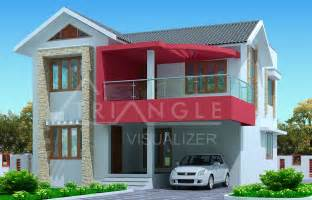 Khov Home Design Gallery by Kerala House Plan Latest 3 Bedroom Exterior House Design