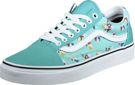 Turquoise Shoes by Vans Skool Shoes Turquoise