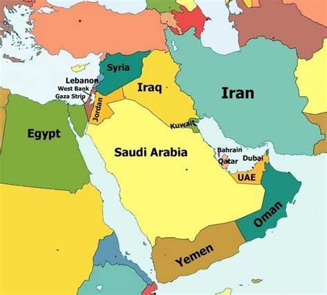 middle east map dubai abu dhabi dubai map what where middle east dubai