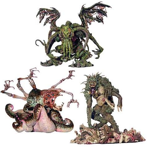 h p lovecraft figure nightmares of h p lovecraft figure set
