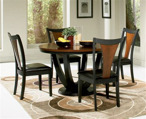 contemporary round dining room sets coaster boyer 5 piece round contemporary dining set usa
