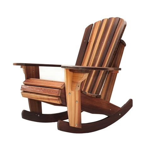 Ideas Design For Adirondack Rocking Chair Furniture Amazing Adirondack Rocking Chair Design Ideas With Brown Color Ideas And