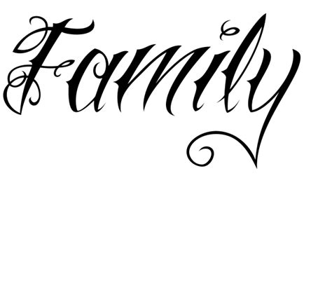 tattoo family lettering pin by brad willoughby on brad pinterest