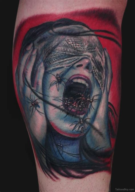 scary tattoo designs horror tattoos designs pictures