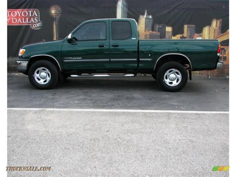 2002 Toyota Tundra Access Cab 2002 Toyota Tundra Sr5 Access Cab 4x4 In Imperial Jade