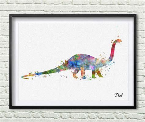 printable dinosaur wall art dinosaur watercolor art print dinosaur poster wall art wall