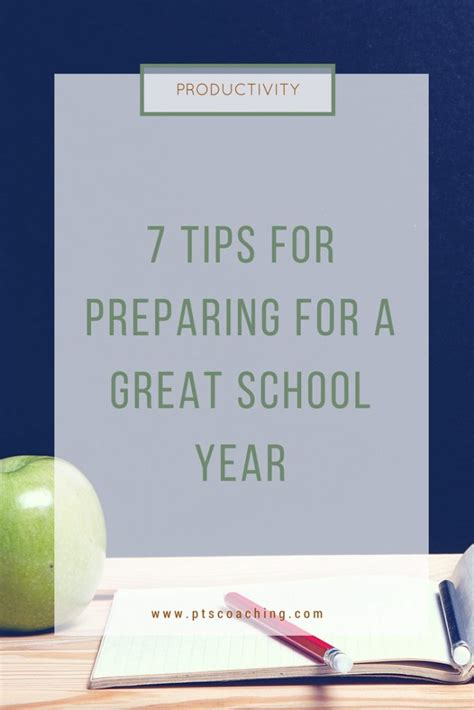 7 Tips For Great Photos 7 tips for preparing for a great school year pts