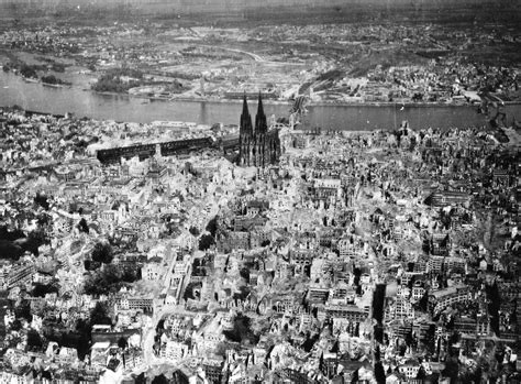 500 Square Feet To Meters The Cologne Cathedral Stands Tall Amidst The Ruins Of The
