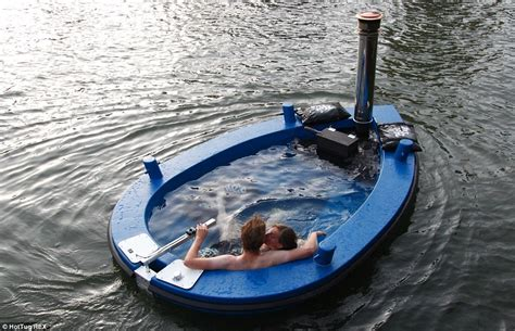 hot tug hotel offers trips on the world s first floating hot tub