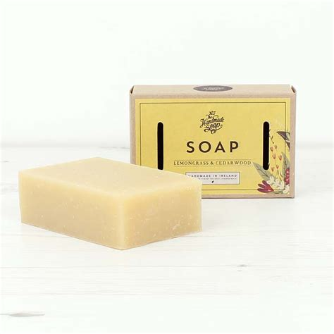 The Handmade Soap Company - lemongrass cedarwood soap the handmade soap company