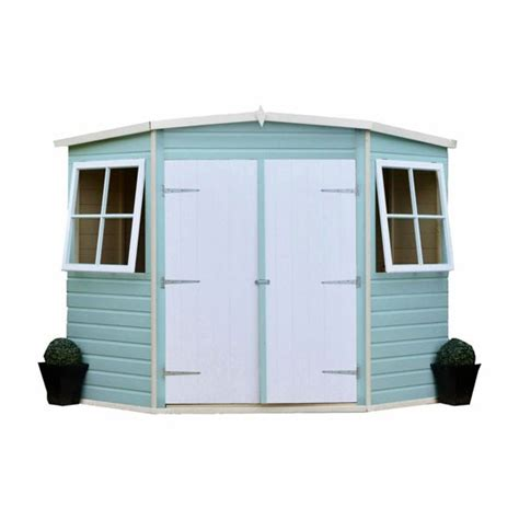 Bnq Shed by Corner Shed From B Q Sheds Housetohome Co Uk