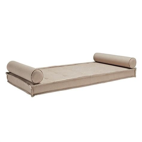 Outdoor Daybed Mattress Dhp Mattress W 2 Bolster Pillows Brown Daybed Mattresse Ebay