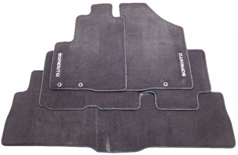 Kia Sorento Floor Mats by New Oem 2012 Kia Sorento 7 Passenger 3 Row Black Floor Mat