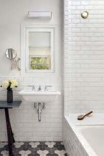 bathroom subway tile designs 26 refined d 233 cor ideas for a vintage bathroom digsdigs