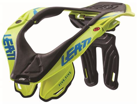 Leatt Gpx 5 5 Neck Brace 2018 leatt gpx 5 5 neck brace lime leatt neck protection