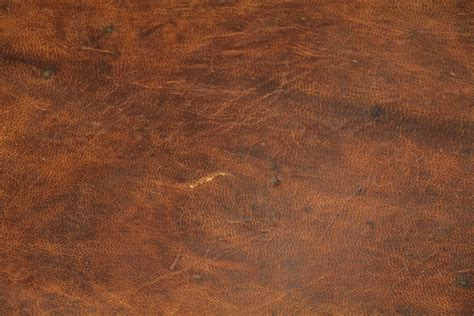 Vintage Brown Leather brown leather texture pattern material stock photo