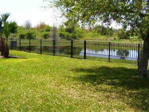aluminum fences best fence company of jacksonville