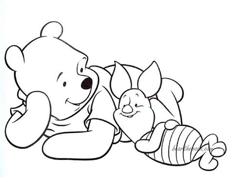pooh and piglet coloring page flickr photo sharing