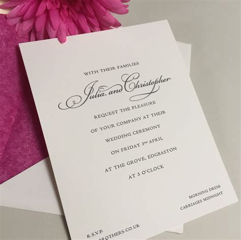 wedding invitations wedding stationery geebrothers co uk - Wedding Stationery Companies Uk