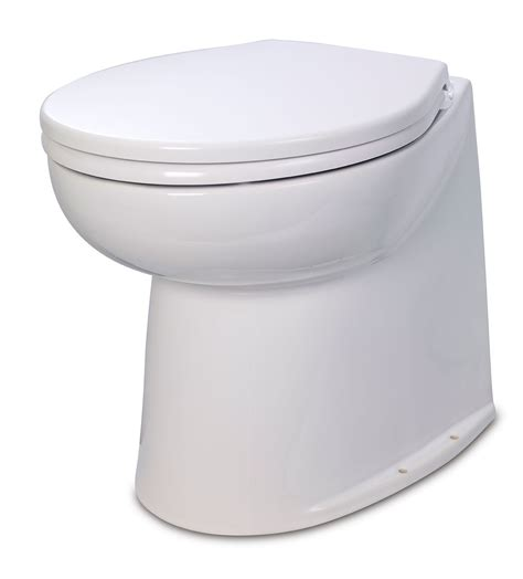 Electric Toilet by Jabsco Deluxe Electric Toilet 12v Back Great