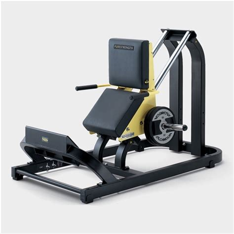 Massage Chairs For Less Technogym Pure Strength Plate Loaded Calf Press