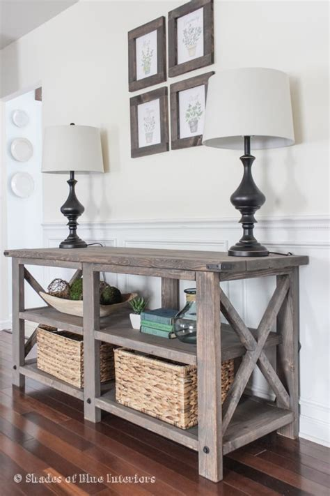 Entryway Table by 25 Best Ideas About Rustic Sofa Tables On