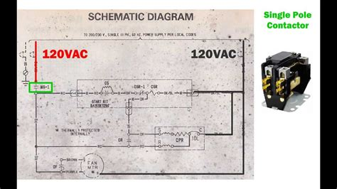 how to read a wiring diagram hvac hvac condenser how to read ac schematic and wiring diagram air condition howto